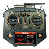 FrSky Horus X10 Express Transmitter Boasts 24 Channels with Battery (Amber)…