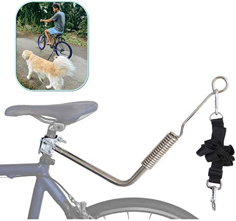 Lumintrail Dog Bike Leash Attachment for Hands Free Dog Walking and Exercise Leash Included product image