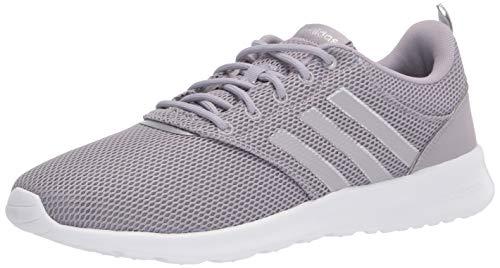 adidas Qt Racer 2.0 Zapatillas de correr para mujer, gris (Gris Glory / Plateado), 37 EU