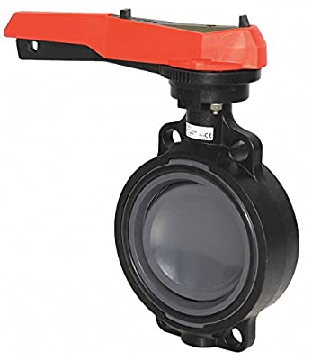 "3"" PVC 567 Wafer Butterfly Valve w/EPDM Seals by Georg Fischer"