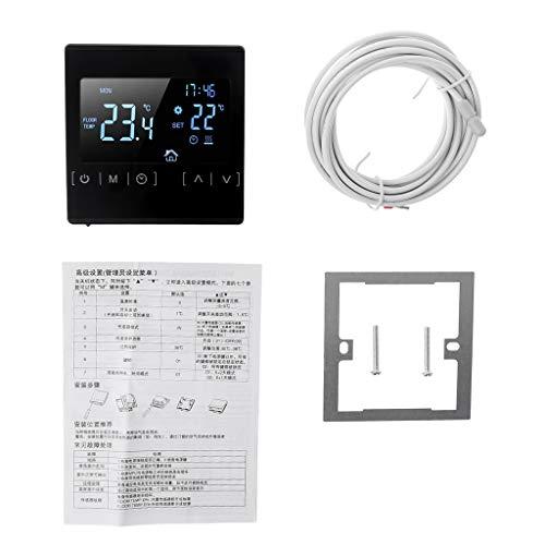 Siwetg LCD-touchscreen thermostaat vloerverwarming elektrische verwarming waterverwarming AC 85-240 V temperatuurregelaar 110 V 220 V 16 A
