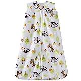 Halo Sleepsack Microfleece Wearable Blanket, Woodland Animal, Medium