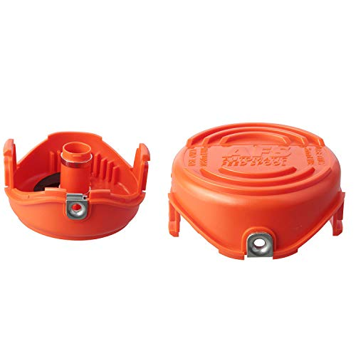 Faracent THTEN Trimmer Spools Cap Covers Compatible with Black Decker SF-080 GH3000 LST540 Weed Eater with 90583594 Cap Covers Parts Auto-Feed Single Line (2 Pack)
