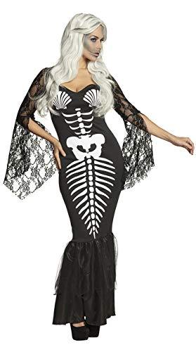 Boland Disfraz de Esqueleto de Sirena para Adultos.