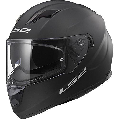 LS2 Motorradhelm STREAM EVO Mat, Schwarz mat, Größe XXL