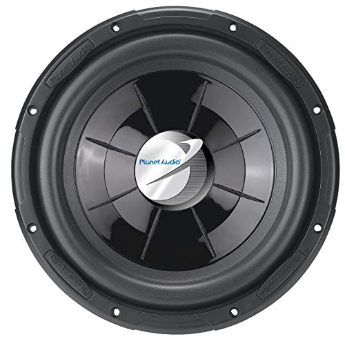 Planet Audio PX10 10 Inch Car Subwoofer - 800 Watts Maximum Power, Single 4 Ohm Voice Coil, Sold Individually
