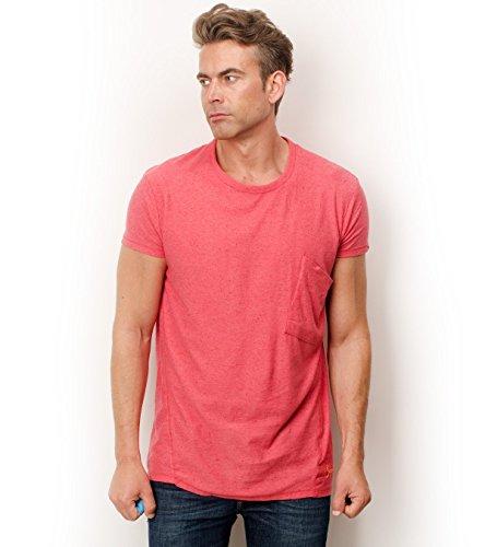 Scotch & Soda Neppy T-Shirt 170 hot pink Melange M