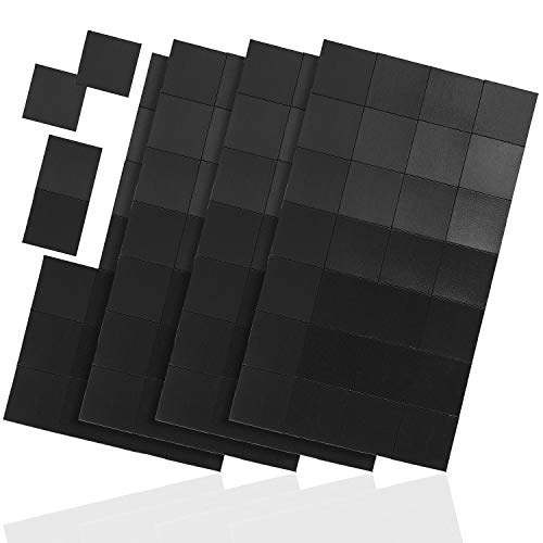 Wintex 112 zelfklevende magneetplaatjes, 20 x 20 mm, op maat te snijden, voor het bevestigen van posters, foto's, ansichtkaarten, afbeeldingen