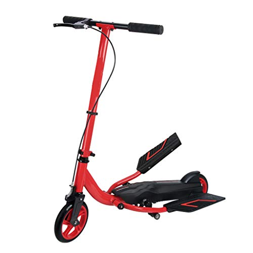 Find Discount Scooter Adult Children Two-Wheeled Double Fitness and Leisure Campus LCSHAN (Size : Be...
