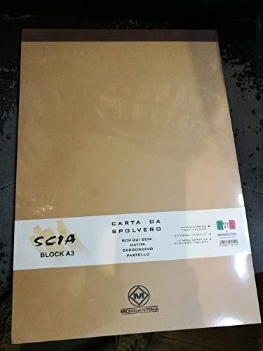 MORGANTINA Album Formato A3 SCIA 120gr. 40FG. Carta da SPOLVERO