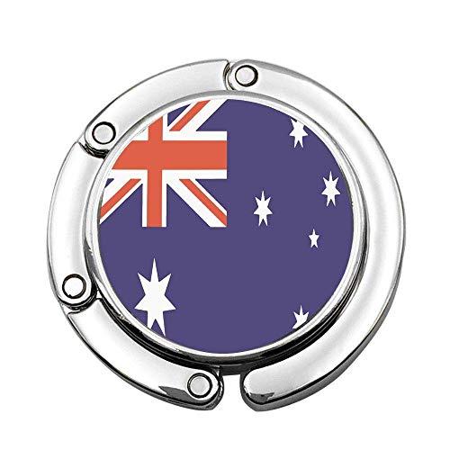 Lecintevro - Colgador plegable con diseo de bandera australiana