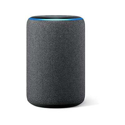 Amazon Echo (3.ª generación) - Altavoz inteligente con Alexa - tela de color antracita
