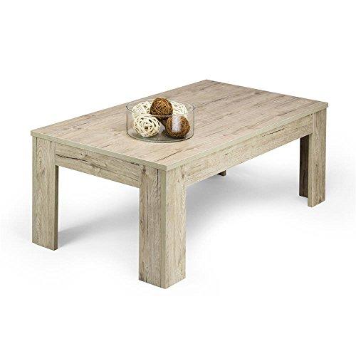Mobili Fiver, Easy, Tavolino da Salotto, Quercia, 100 x 55 x 40 cm, Nobilitato, Made in Italy, Disponibile in Vari Colori