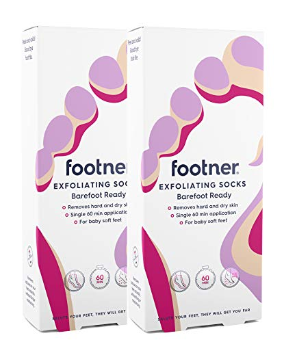 Footner Exfoliating Socks Total Callus Remover(2 PACK)