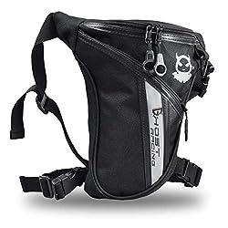 Fansport Leg Bag Motorcycle Waterproof Men's Leg Bag Adjustable Thigh Pack Sport Outdoor Leg Bag