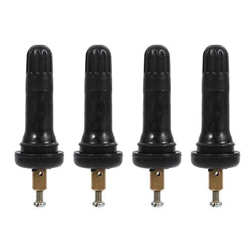 Fydun Vástagos de válvulas de Repuesto TPMS para Sistema de Control de presión de los neumáticos, TPMS de Válvulas de presión en Las Llantas del neumático 4 Piezas para Encore Verano