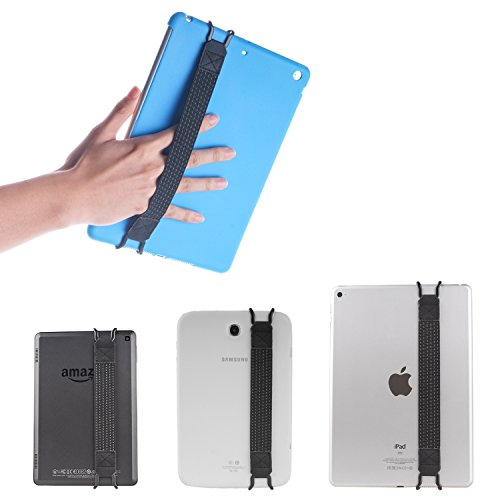 TFY Elastisches Halteband für Apple iPad , Samsung Tablet und Andere - iPad (New iPad / iPad Mini & Mini 2 & Mini 3 / iPad Air / iPad Air 2 / iPad Pro 9.7