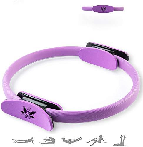 AB Pilates Magic Ring mit 2 rutschfesten Griffen Pilates Circle Gewichtsverlust Körperstraffung
