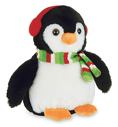 Bearington Mr. Flurry Plush Penguin Stuffed Animal, 10 inches