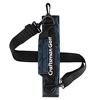 Craftsman Golf Portable Mini Carry Bag Shoulder Sleeve Bag Ideal for Golf Course  Blue camo  Update