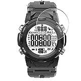 Vaxson 3 Unidades Protector de Pantalla, compatible con LENOVO C2 Smart Watch SmartWatch [No Vidrio Templado Carcasa Case ] Película Protectora Film Guard
