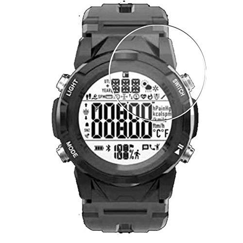 Vaxson 3 Unidades Protector de Pantalla, compatible con LENOVO C2 Smartwatch Smart Watch [No Vidrio Templado] TPU Película Protectora Reloj Inteligente Film Guard Nueva Versión