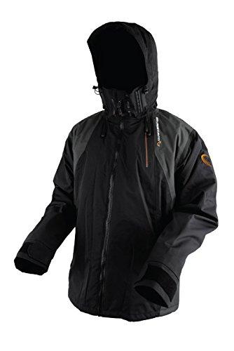 Savage Gear Black Savage Jacket Grey XL Jacke Jacke