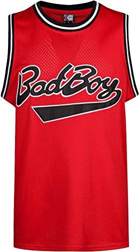 MOLPE Bad Boy #72 Smalls Basketball Jersey S-XXXL Red (XXL)