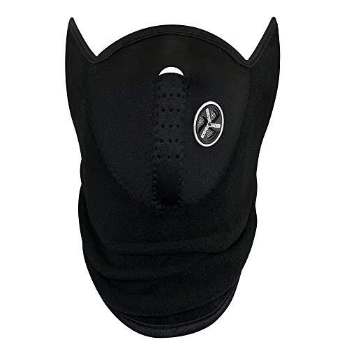 TRIXES Sportmaske als Kälteschutz für Ski, Snowboard, Fahrrad, Motorrad - Skimaske