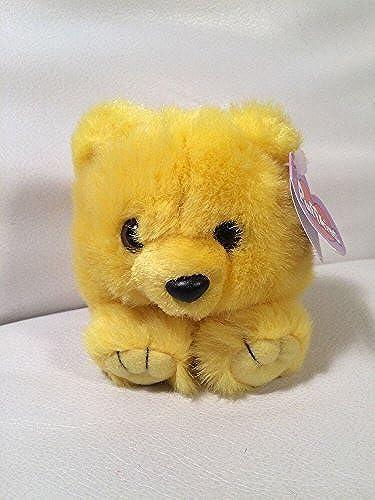 garantía de crédito Puffkins Bean Bag, NWT - Buttercup the the the amarillo Bear by Swibco  en stock
