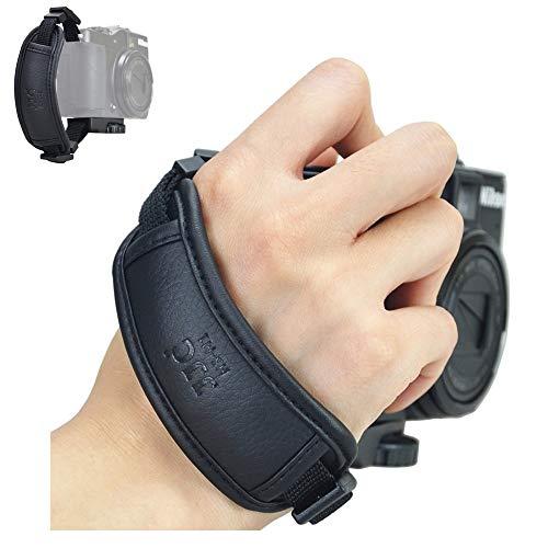 Compact Camera Hand Grip Strap for Sony A7C A7SIII A7RIV A7RIII A7III A7RII A7SII A7II A7R A7 A7S A6600 A6500 A6400 A6300 A6100 A6000 A5100 A5000 A9 A9II A99 RX10 IV III II HX400V HX300 H400 H300 HX99 HX90V HX80 HX60
