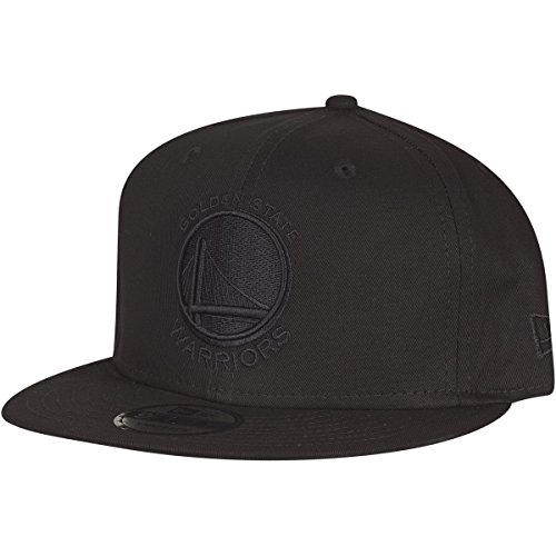 NEW ERA Nba On Black Golden State Warriors 9Fifty, Cappello Uomo, Nero, M/L