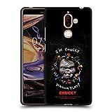 Head Case Designs sous Licence Officielle Child's Play Wanna Play Grunge Art Clé Coque Noir en Gel...