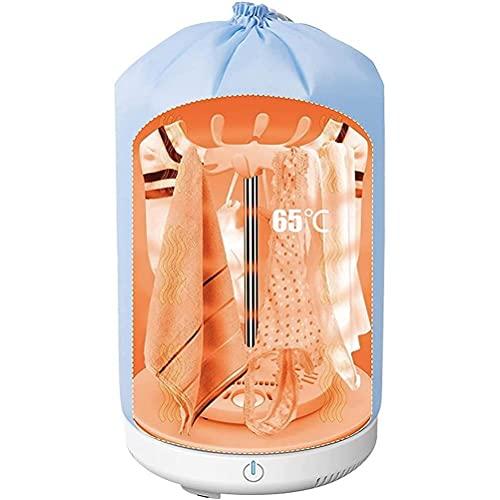 Tendedero eléctrico de 150 W, 19 x 35 cm, mini secadora plegable...