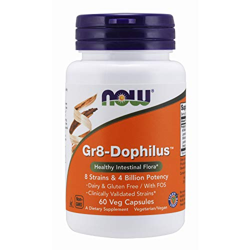 Now Foods Gr8-Dophilus (60) 60 Unidades 40 g