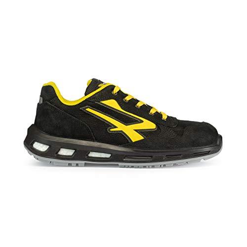 U-Power - Scarpe antinfortunistiche, modello: S3 SRC, colore: nero e giallo, RL20043