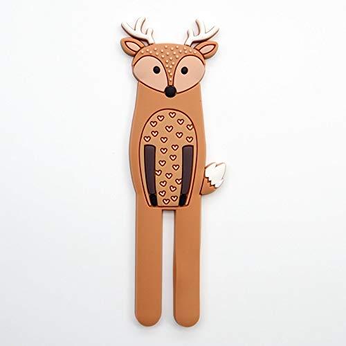 Hänger Tier Kreative Cartoon Wandhaken Niedlich Magnetisch Kühlschrank Haken Abnehmbare Schlüssel Wand Häkeln Halter Home Küche Dekorative Haken Haken Haken Up (Farbe: 07)