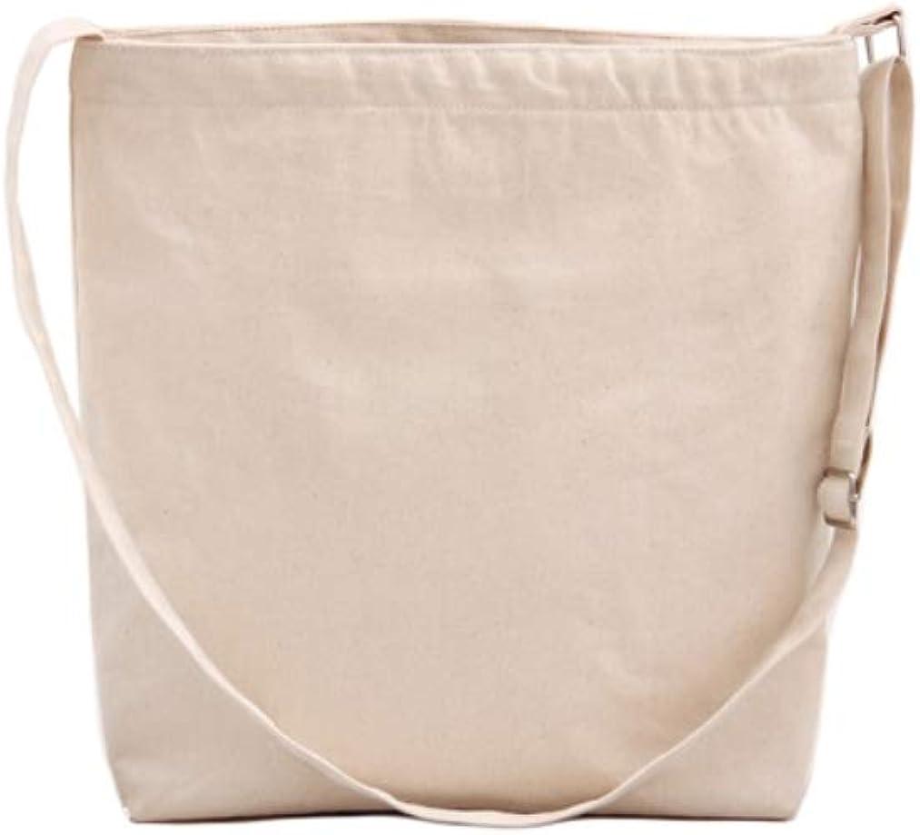 Chezi Plain Canvas Hobos Crossbody Bag Shoulderbag