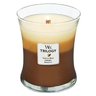 Woodwick Candle Café Sweets Trilogy Medium Jar