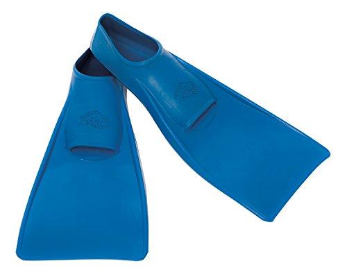 Flipper SwimSafe 1111 - Schwimmflossen für Kinder und Kleinkinder, in der Farbe blau, Größe 24 – 26, aus Naturkautschuk, als Schwimmhilfe für unbeschwerten Schwimm- und Badespaß
