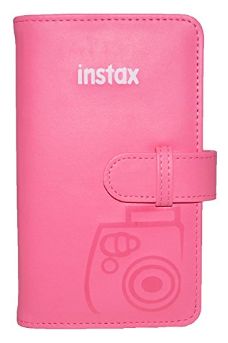 Fujifilm Photo Album für Instax Mini Fotos flamingo rosa