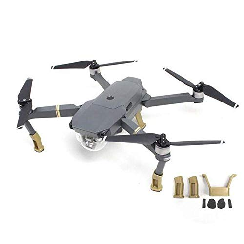 Parti del drone per DJI, estensore dell'altezza del treppiede del carrello di atterraggio per Mavic Pro RC (Color : White)