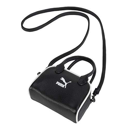 PUMA Cross Body Mini Grip Handle Bag Black Size: One Size