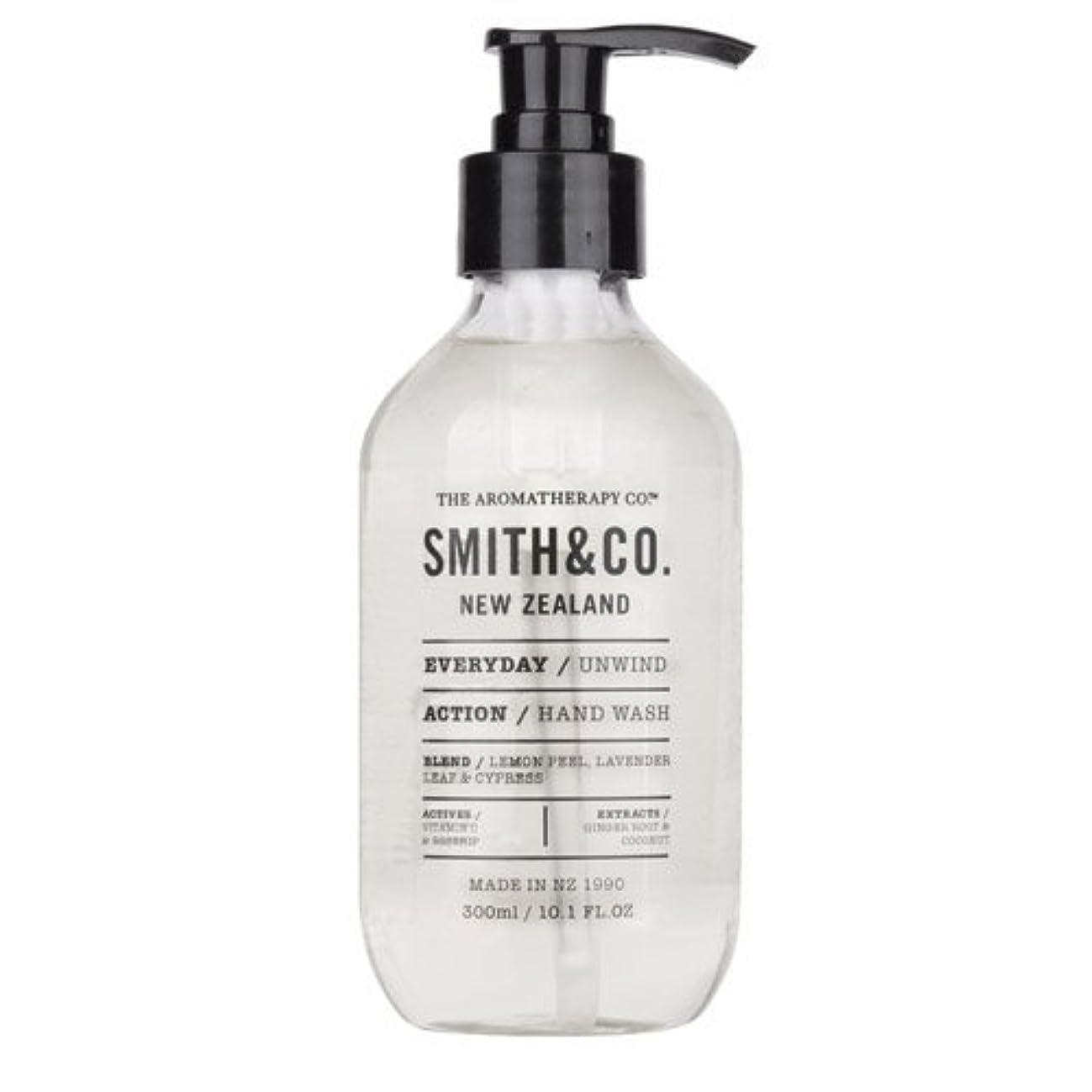 ナサニエル区生物学接地Smith&Co. スミスアンドコー Hand&Body Wash ハンド&ボディウォッシュ Unwind アンワインド