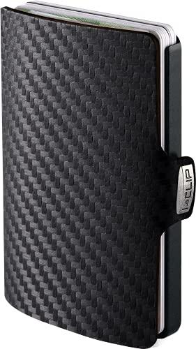 I-CLIP Original Black Carbon Black, Geldbörse, Geldbeutel, Kartenetui