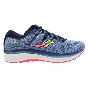 Saucony Women's Triumph ISO 5 Running Shoe, Blue/Navy, 8.5 M US