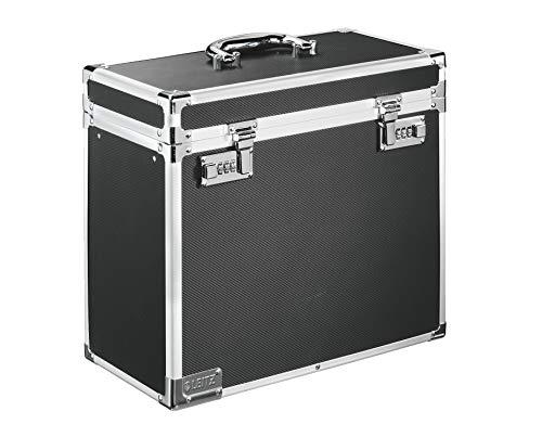 Leitz 67160095 Hängeablage-Box mobil, Aluminium, schwarz