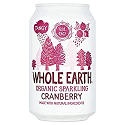 Lightly carbonated drink flavoured by real cranberry juice from concentrate Naturally sweetened with agave Healthier alternative to fizzy drinks