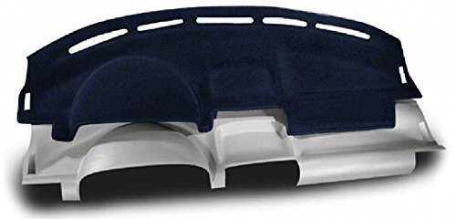Coverking Custom Fit Dashcovers for Select Nissan Frontier Models - Molded Carpet (Dark Blue)