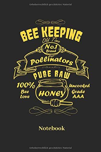 Notebook: Liniertes Notizbuch für Imker und Bienen Fans - Notizheft, Klatte für Männer, Frauen und Kinder